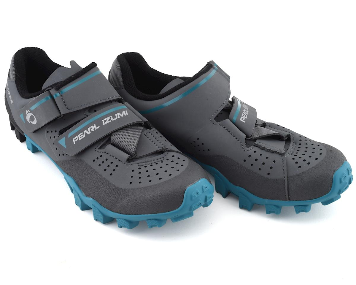 Pearl Izumi Women's X-Alp Divide Mountain Shoe (Black/Smoke Pearl) (40)