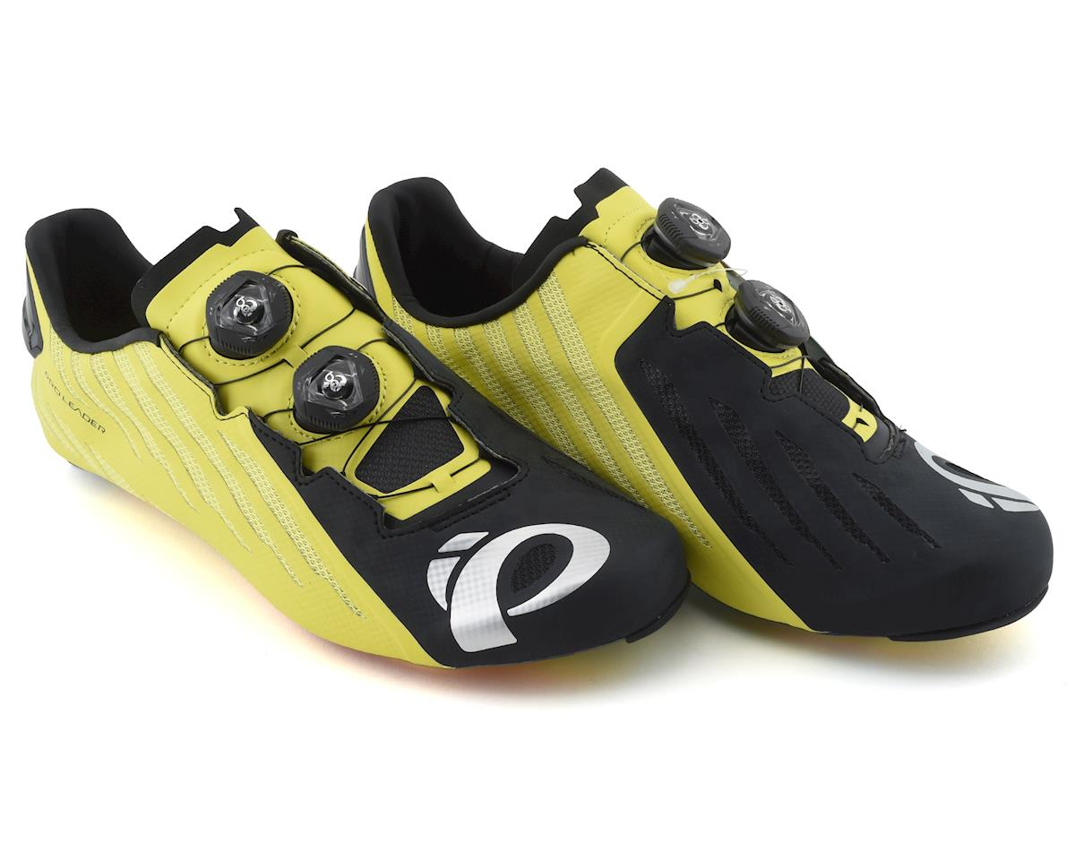 Pearl Izumi PRO Leader v4 Shoes (Black/Lime) (48)