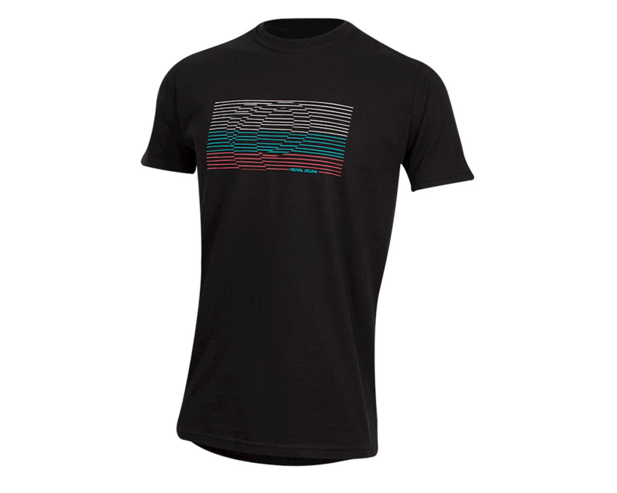 Pearl Izumi Organic Cotton T-Shirt (Lines Logo Black)