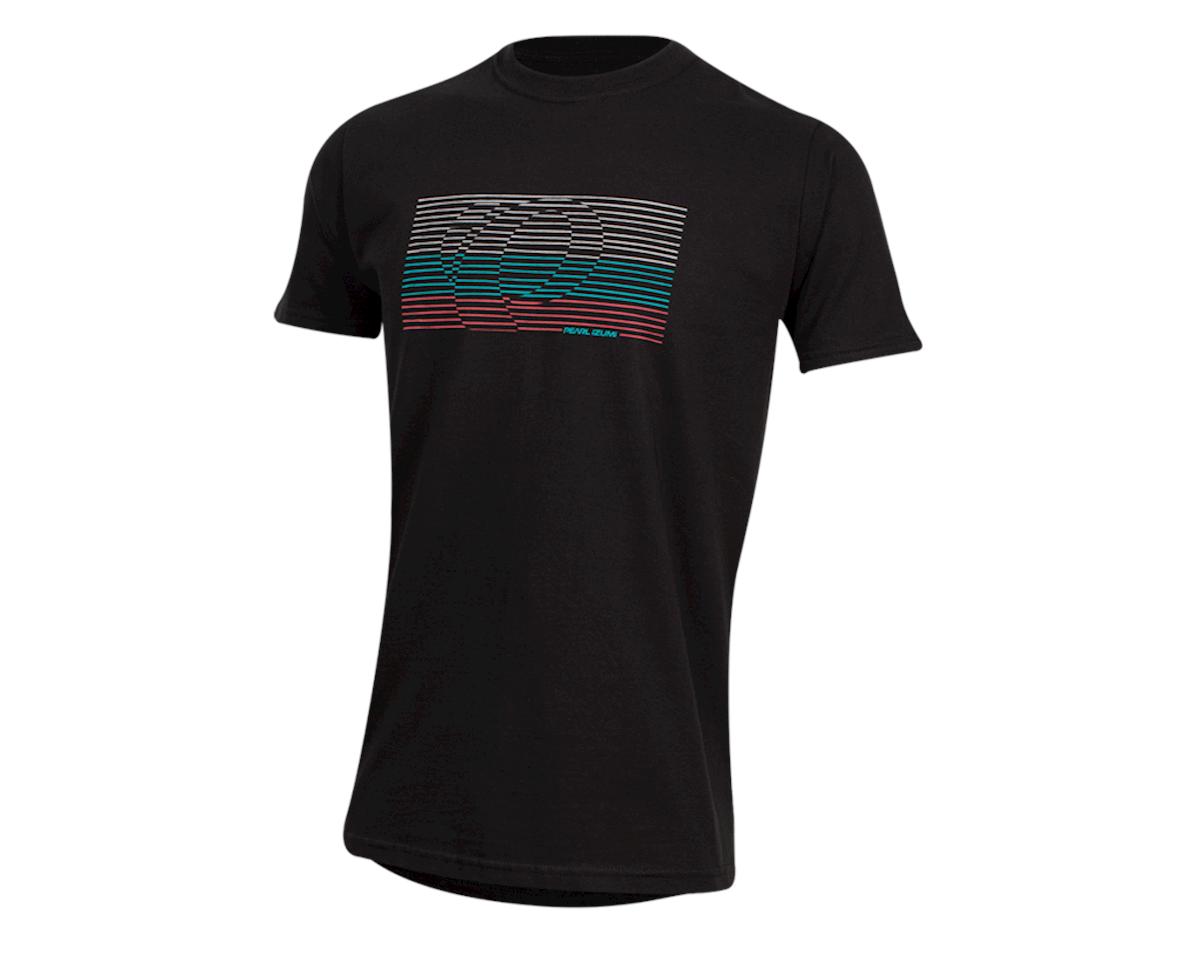Pearl Izumi Organic Cotton T-Shirt (Lines Logo Black) (M)