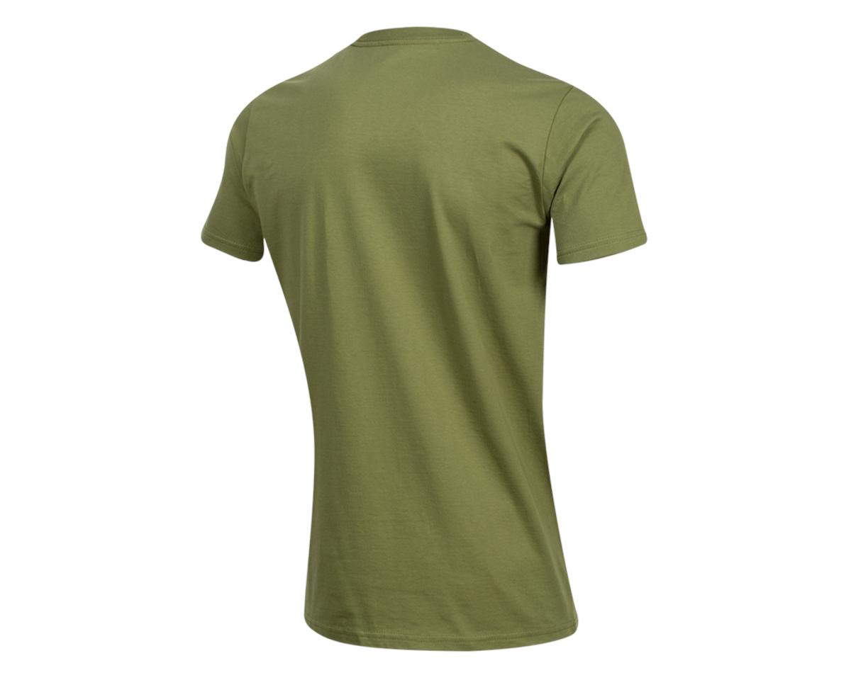 Pearl Izumi Organic Cotton T-Shirt (Lines Logo Olive) (M)
