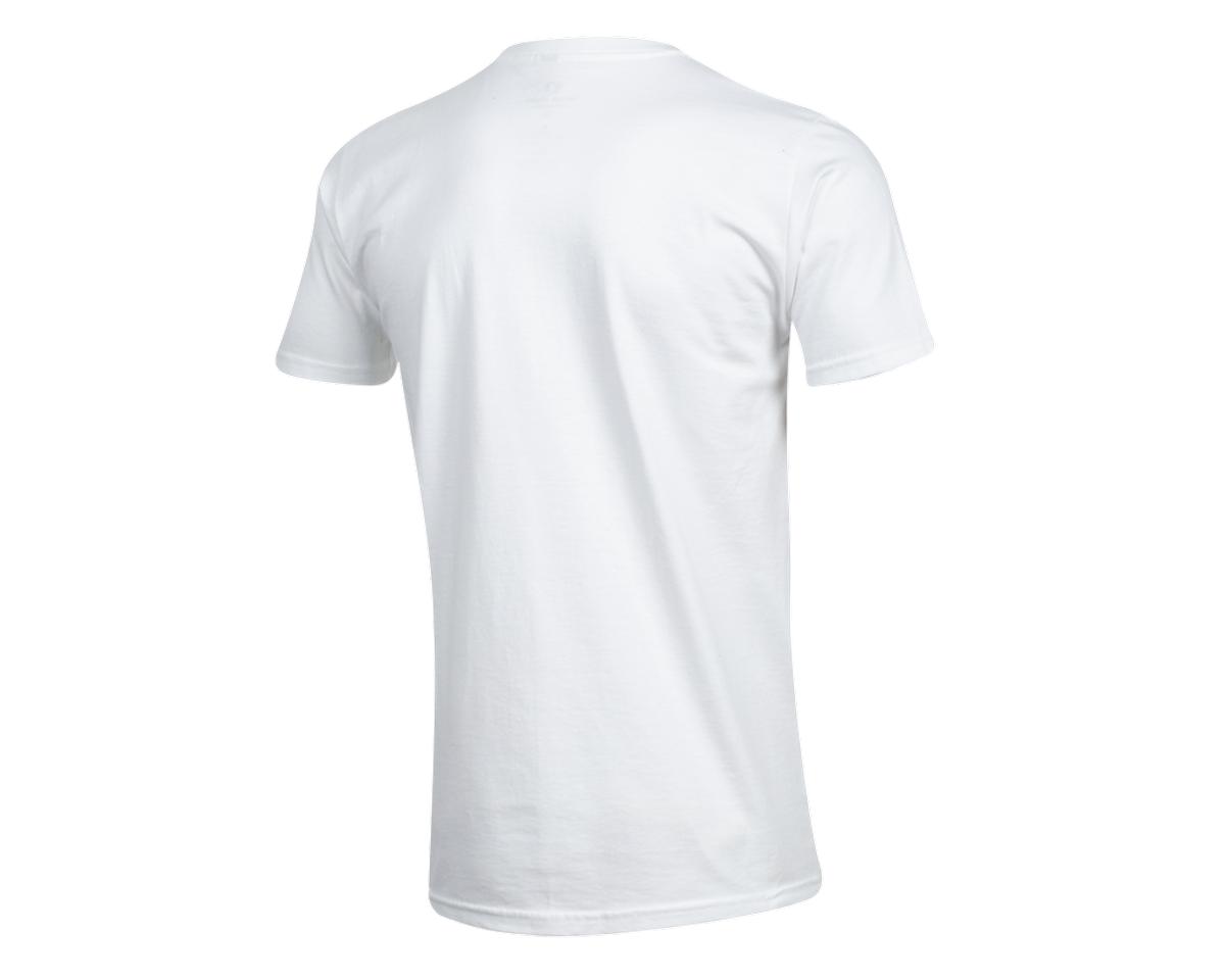 Pearl Izumi Organic Cotton T-Shirt (Lines Logo White) (M)