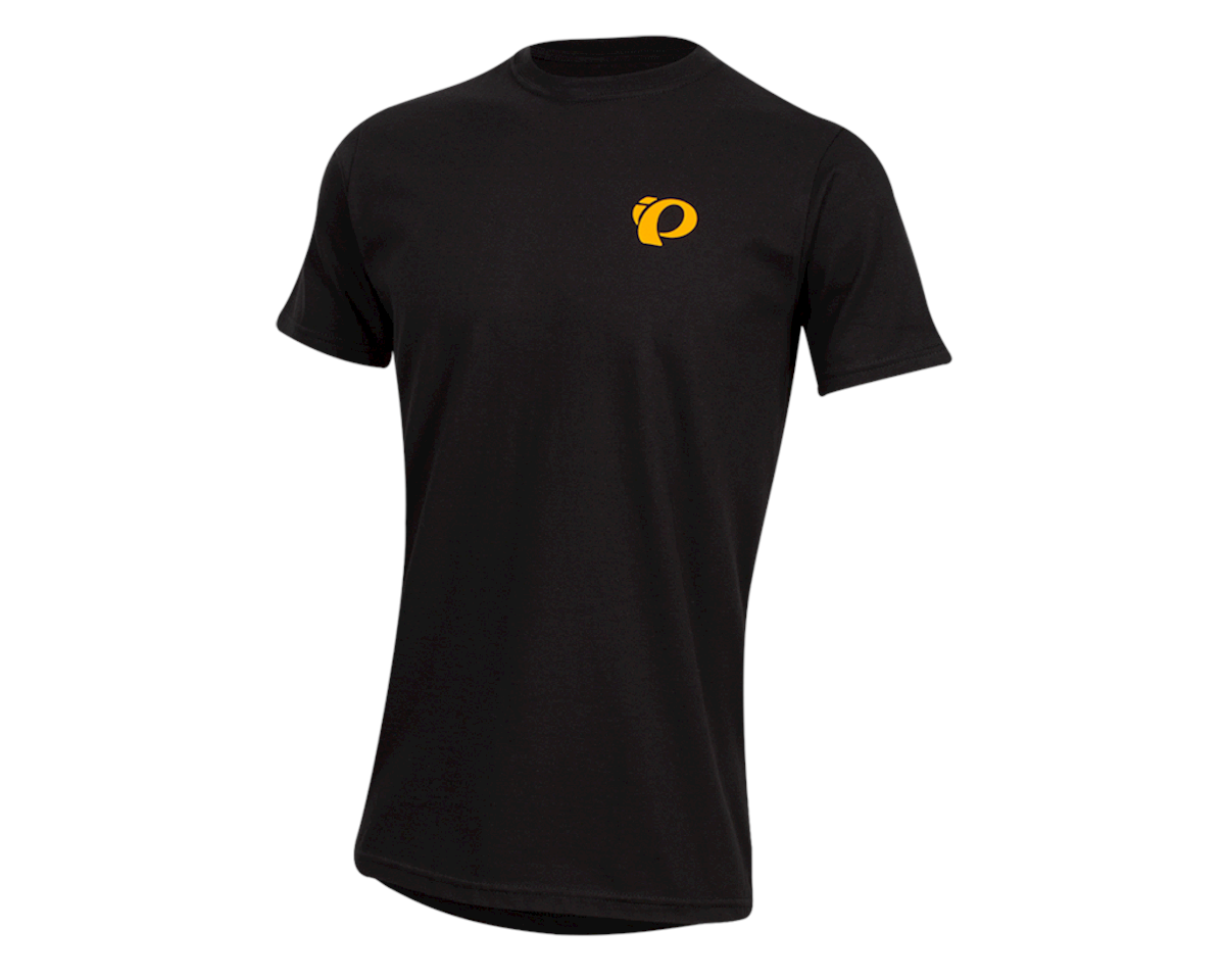 Pearl Izumi Organic Cotton T-Shirt (Sunset Wheel Black) (XL)