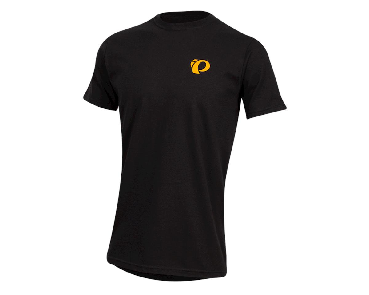 Pearl Izumi Organic Cotton T-Shirt (Sunset Wheel Black) (XL)