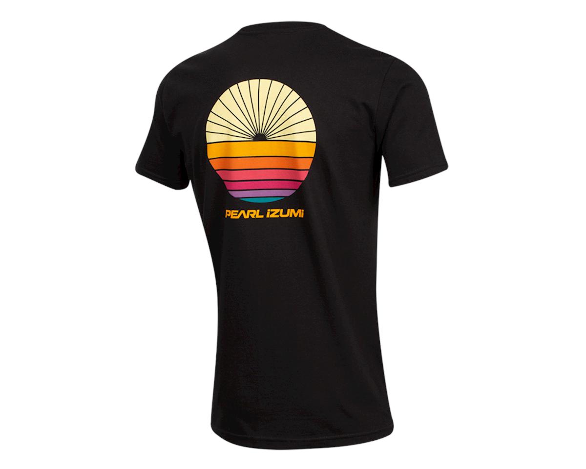 Image 2 for Pearl Izumi Organic Cotton T-Shirt (Sunset Wheel Black) (XL)