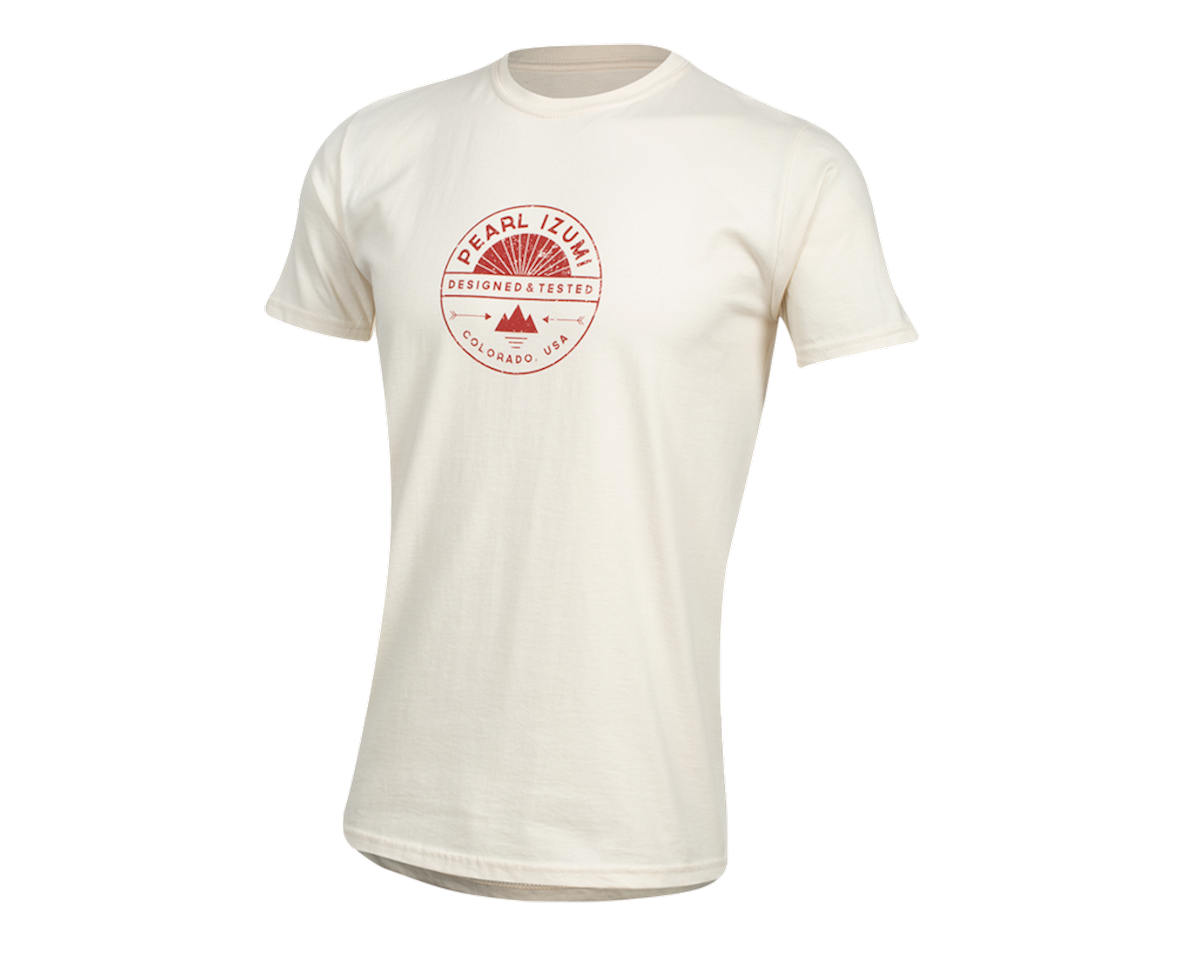 Pearl Izumi Organic Cotton T-Shirt (Stamp Natural) (L)