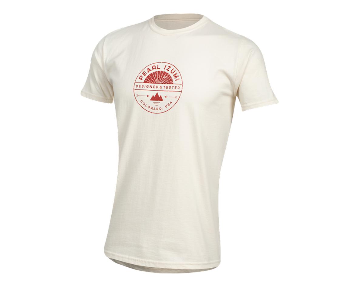Pearl Izumi Organic Cotton T-Shirt (Stamp Natural) (XL)