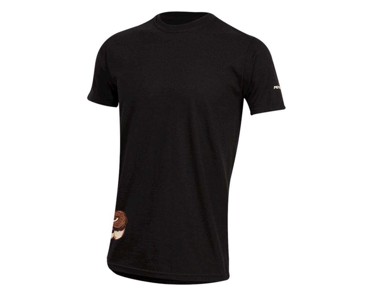 Pearl Izumi Organic Cotton T-Shirt (Doughnut Black) (L)