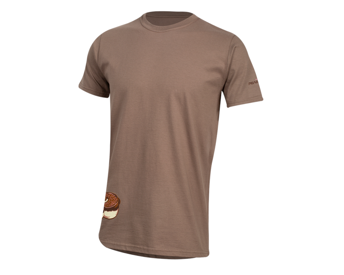 Pearl Izumi Organic Cotton T-Shirt (Doughnut Tan) (S)