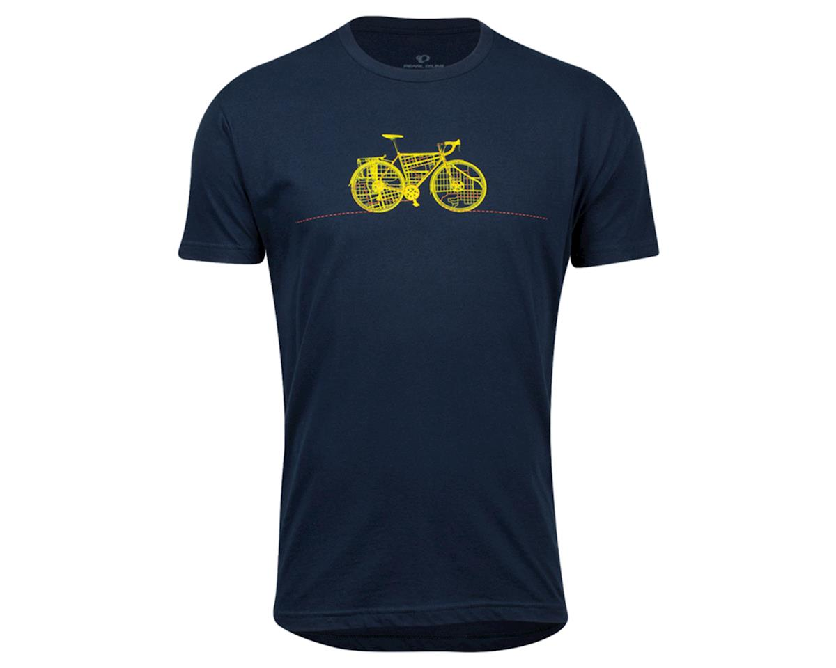 Pearl Izumi Graphic T-Shirt (Midnight Navy Commuter Line) (L)