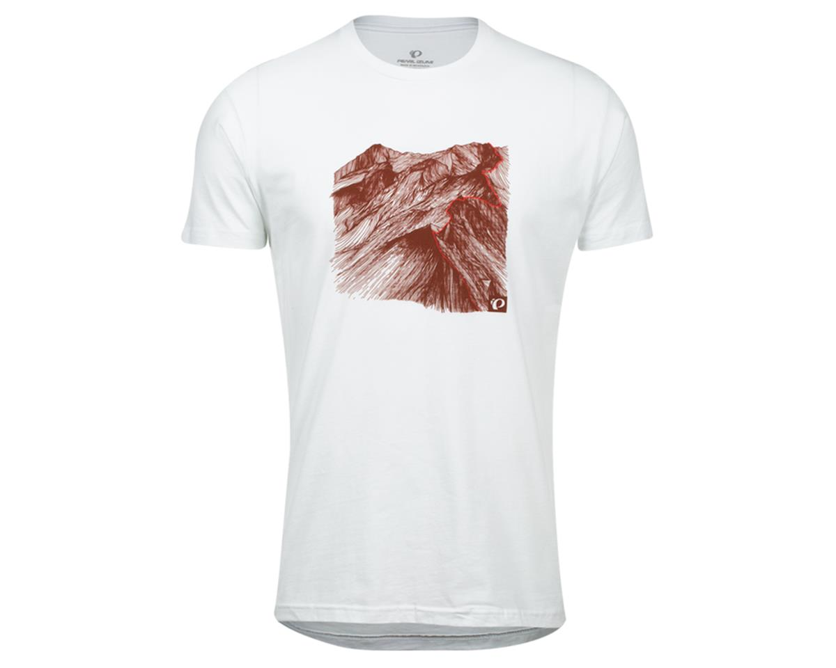 Pearl Izumi Graphic T-Shirt (White Mountain) (M)