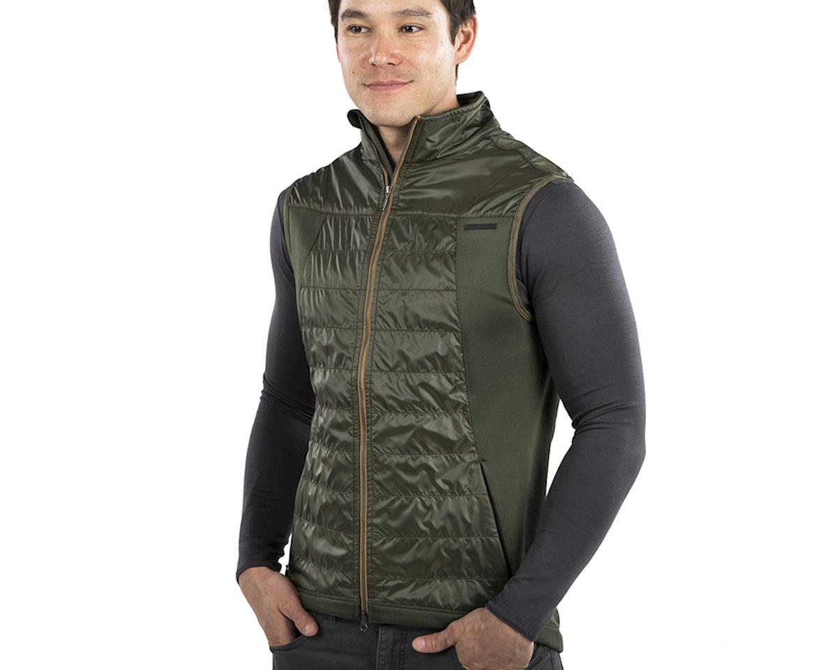 Image 3 for Pearl Izumi Blvd Merino Vest (Green) (L)