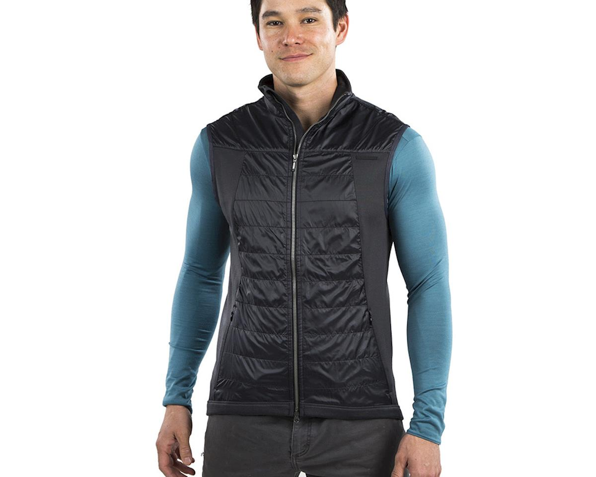 Image 3 for Pearl Izumi Blvd Merino Vest (Black/Phantom) (M)
