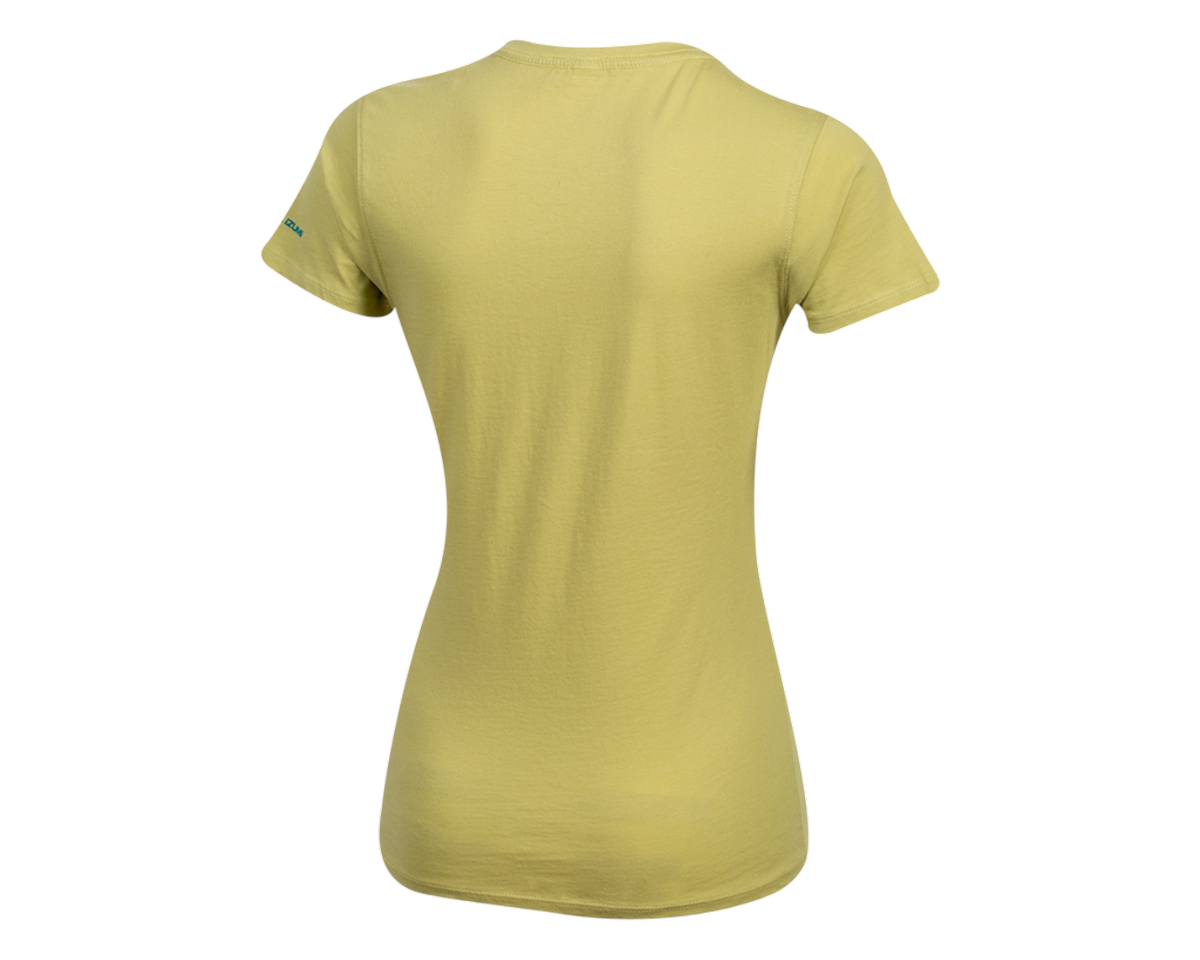Pearl Izumi Women's Organic Cotton Crewneck T-Shirt (Wish Wasabi) (L)