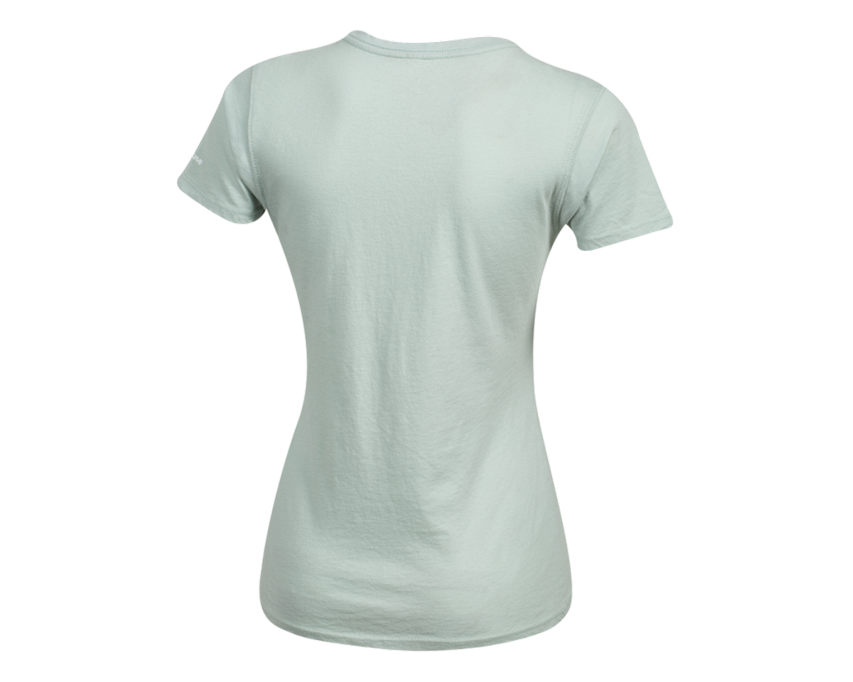 Pearl Izumi Women's Organic Cotton Crewneck T-Shirt (Wish Sky) (XL)