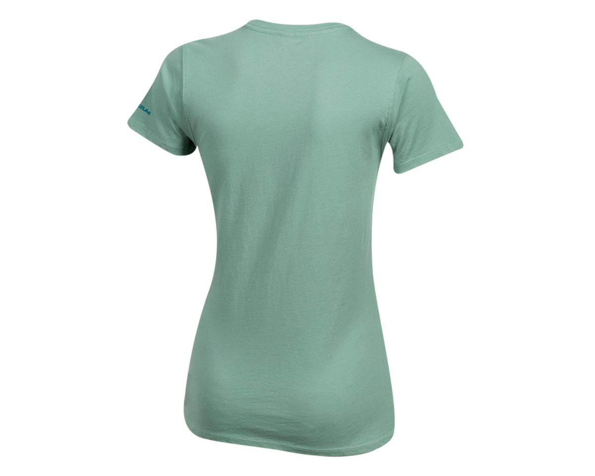 Pearl Izumi Women's Organic Cotton Crewneck T-Shirt (Bike Scene Sage) (XL)