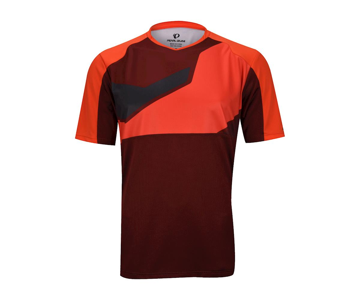 Pearl Izumi Launch Short Sleeve Jersey (Red)