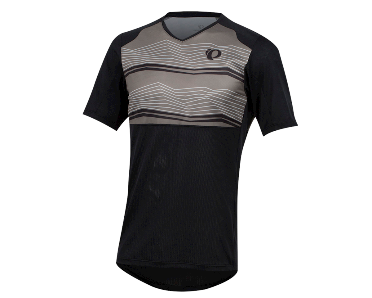 Pearl Izumi Men's Launch Jersey (Black/Smoked Pearl Mtn)