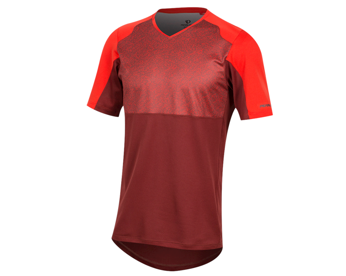 Pearl Izumi Launch Jersey (Torch Red/Russel Static) (XL)