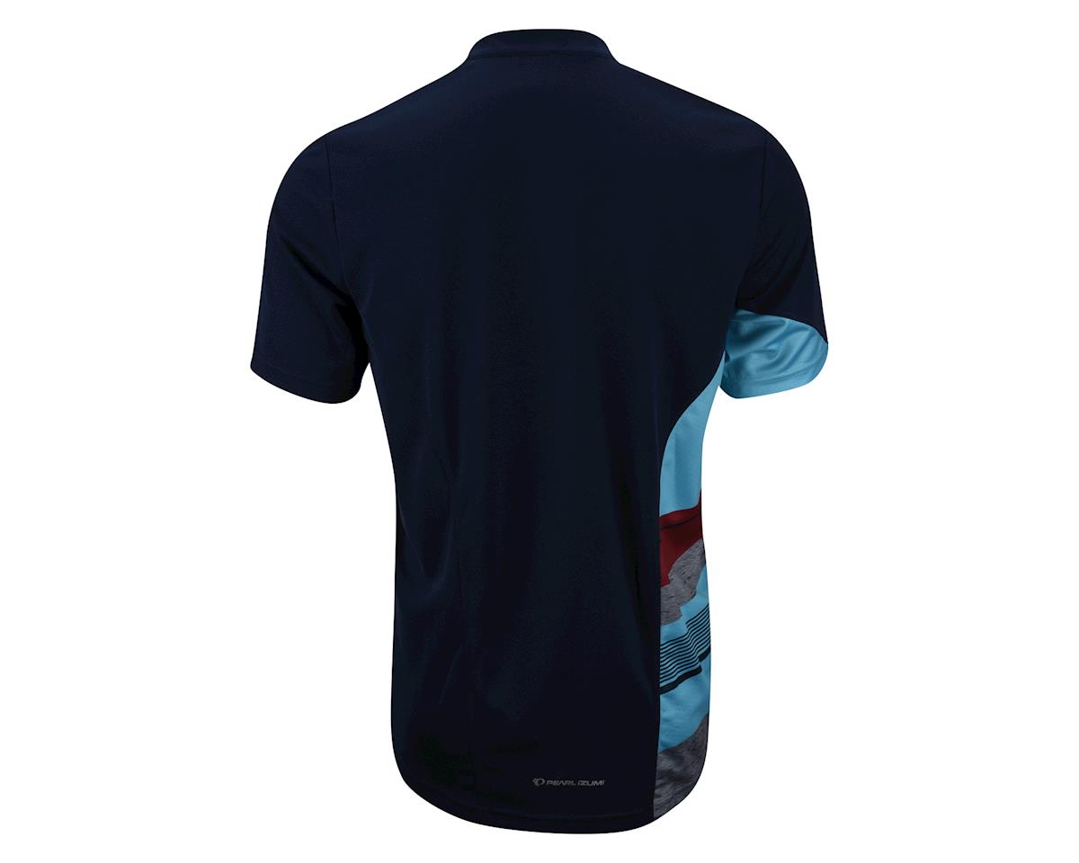 Pearl Izumi Journey Short Sleeve Jersey (Blue) (Medium)