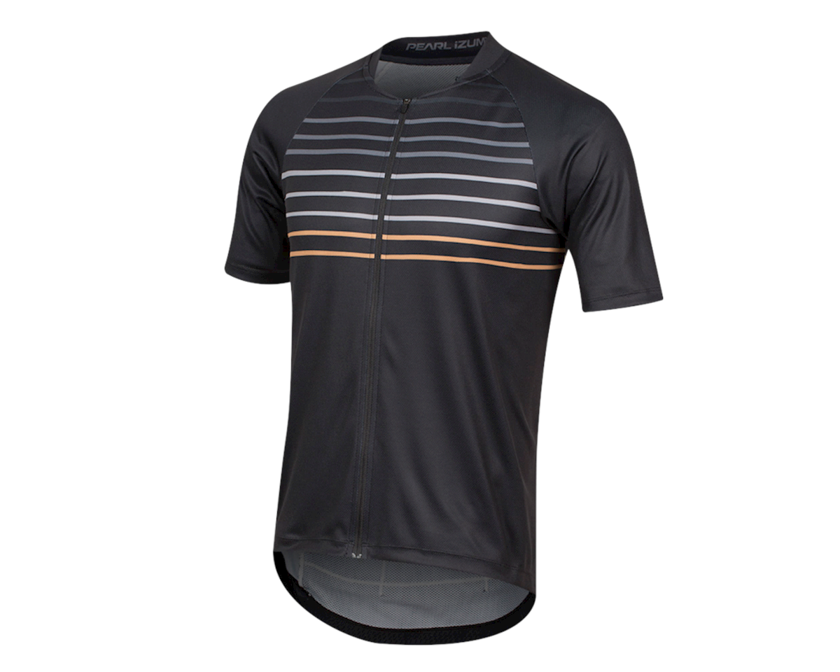 Pearl Izumi Canyon Jersey (Black/Berm Brown Slope) (2XL)