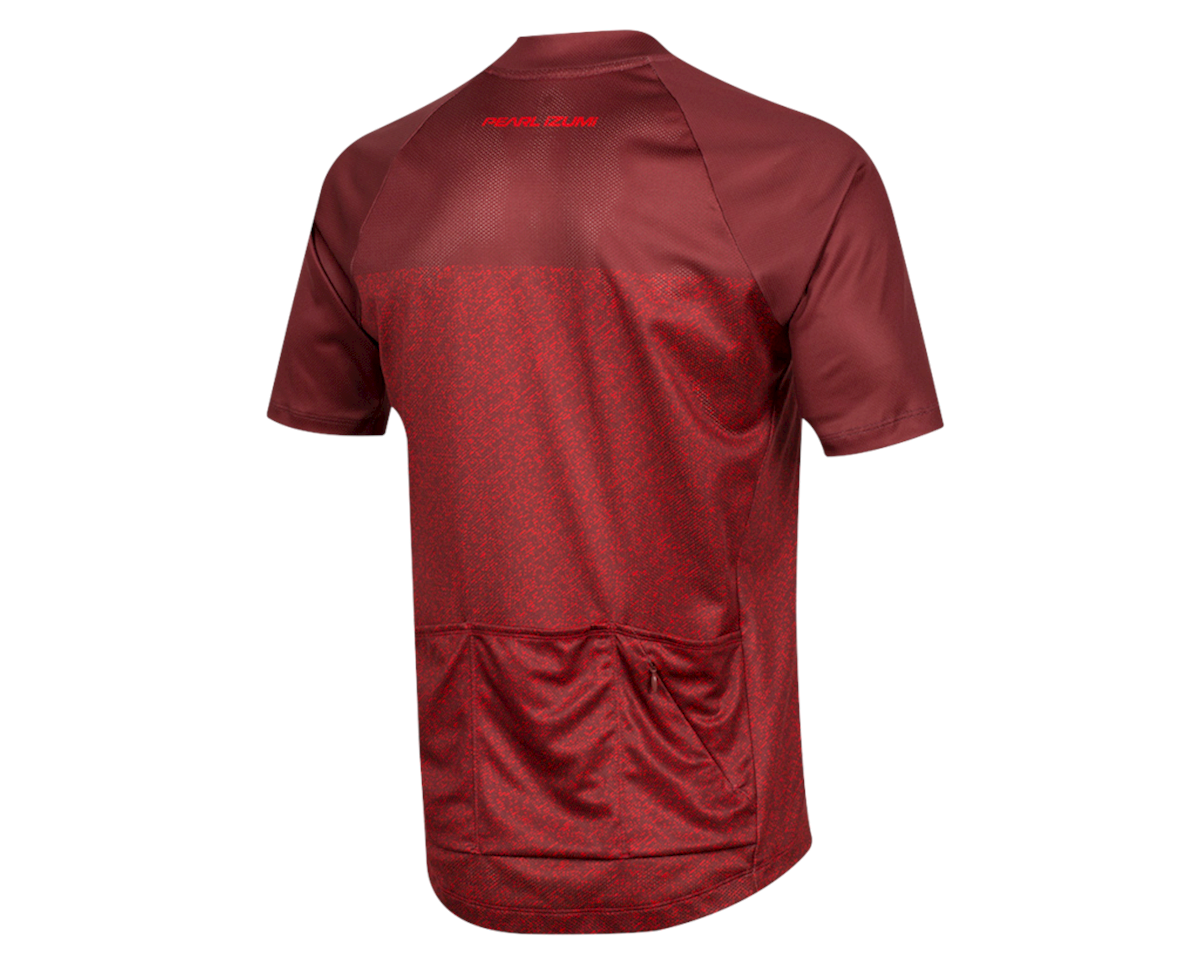 Image 2 for Pearl Izumi Canyon Jersey (Russet/Torch Red Static) (XL)