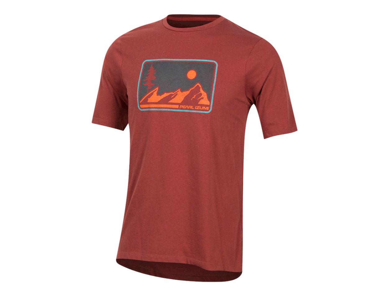Pearl Izumi Mesa T-Shirt (Russet) (M)