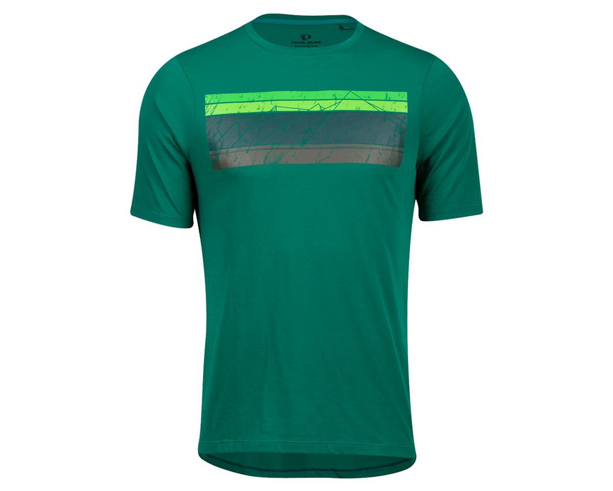 Pearl Izumi Mesa T-Shirt (Alpine Green Sacred Mountain) (2XL)