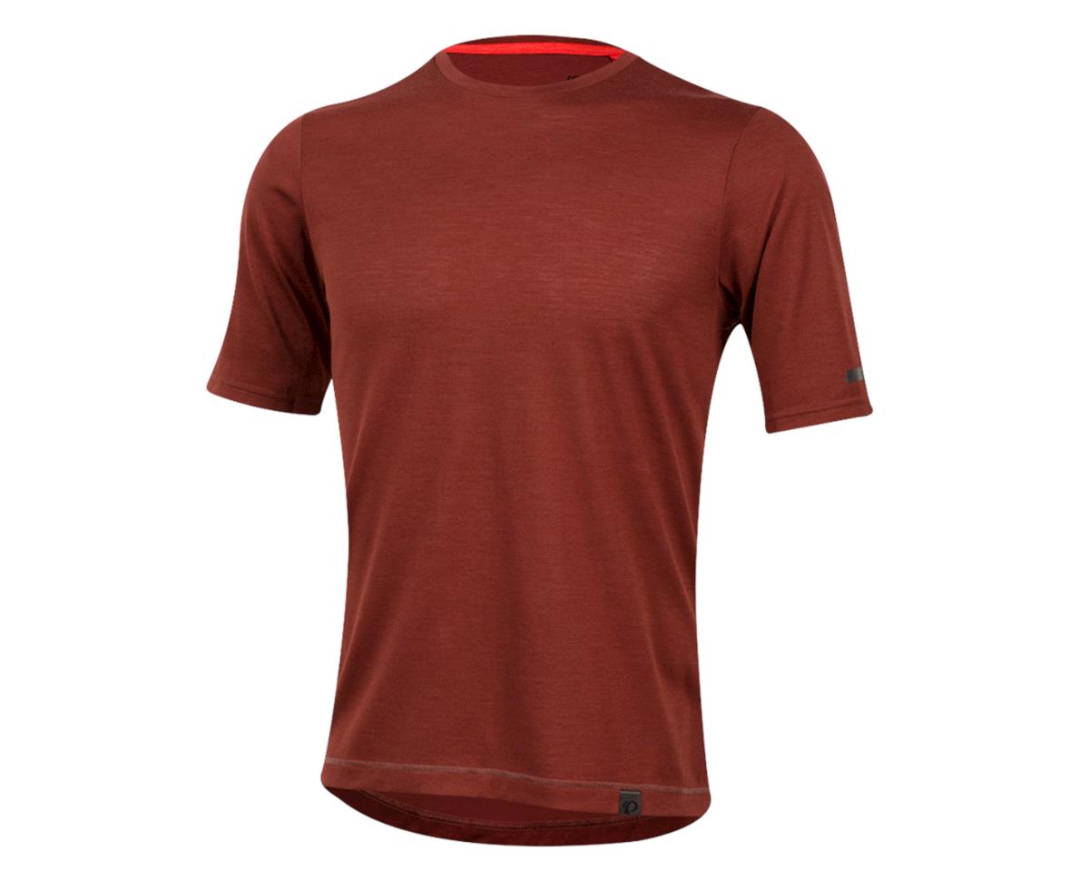 Pearl Izumi Blvd Merino T-Shirt (Russet) (M)