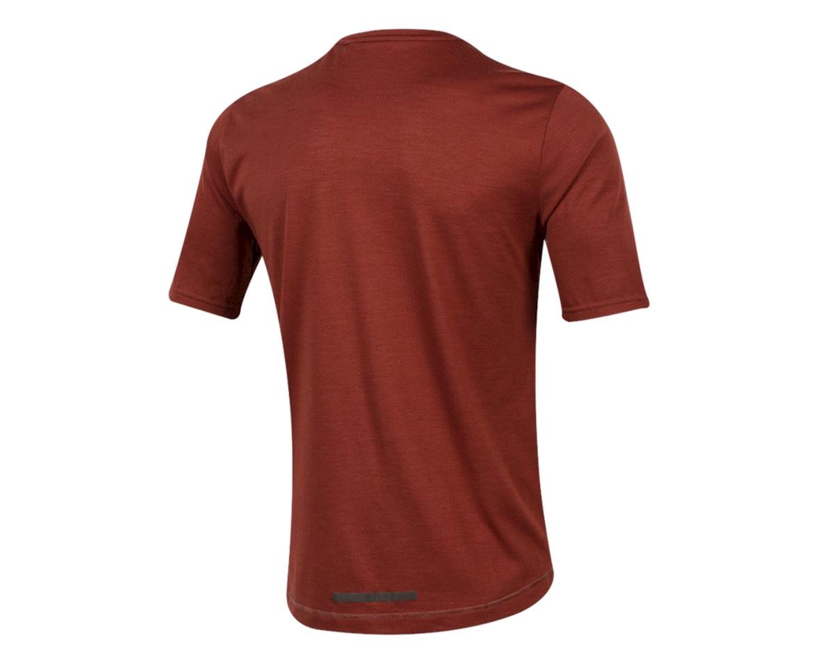 Pearl Izumi Blvd Merino T-Shirt (Russet) (S)
