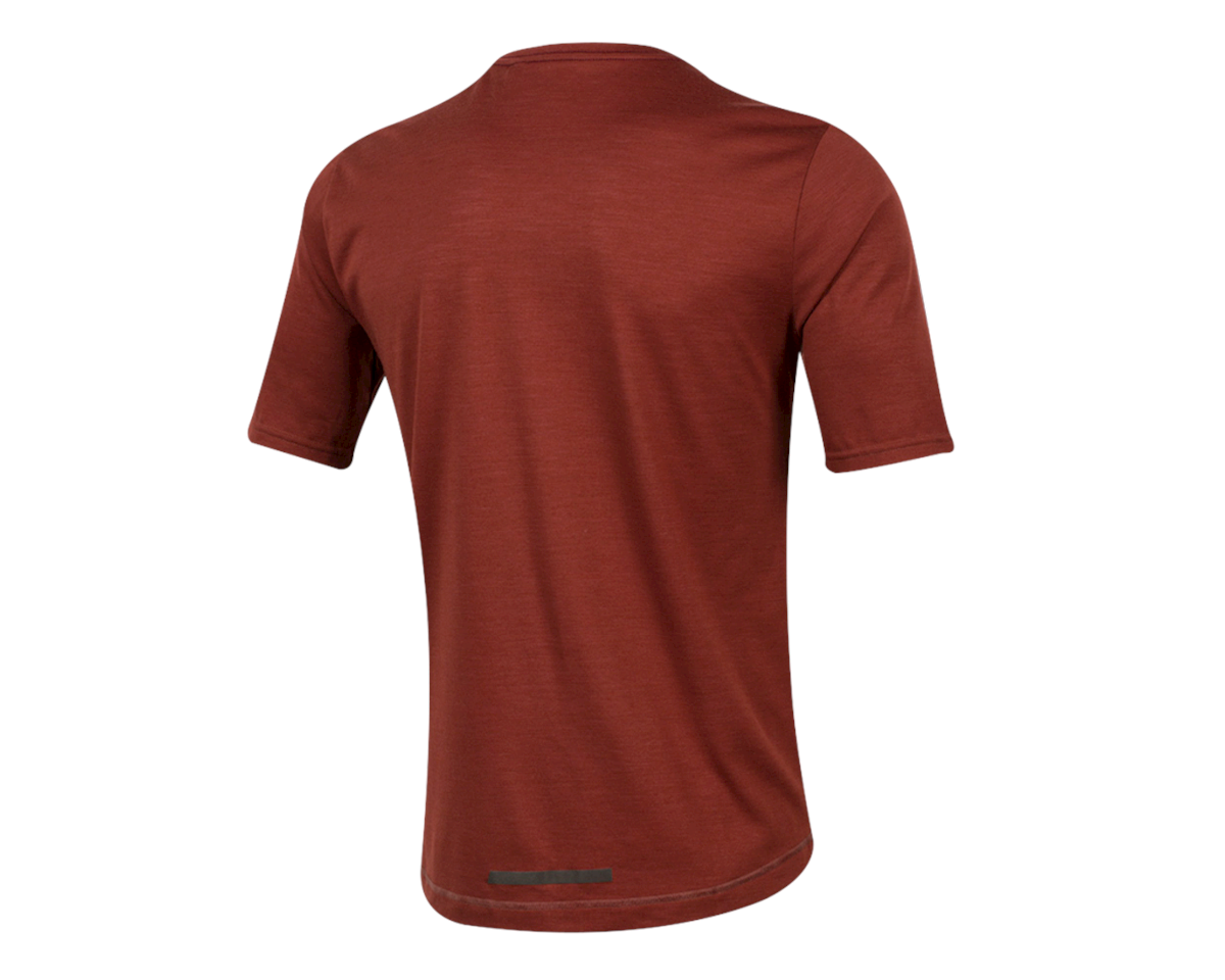 Pearl Izumi Blvd Merino T-Shirt (Russet) (XL)