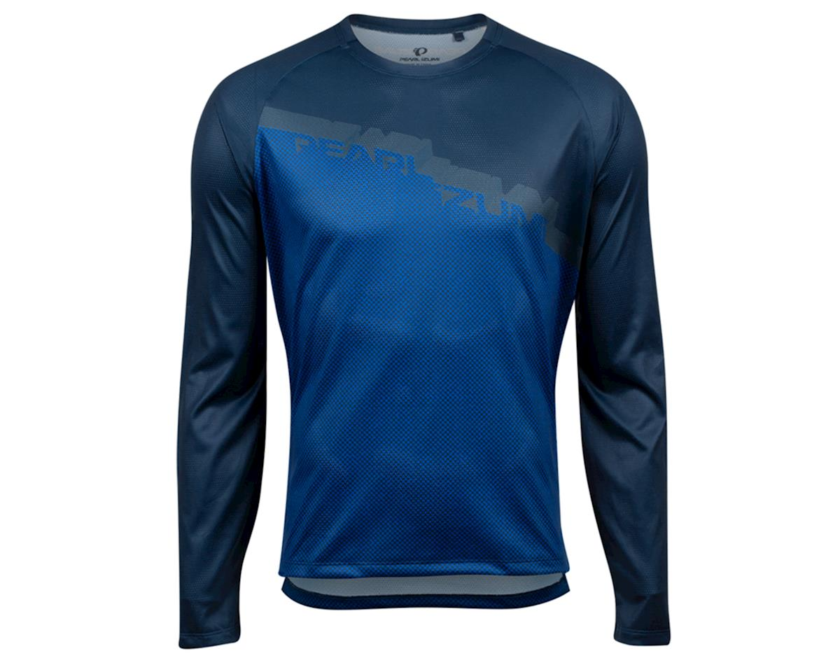 Pearl Izumi Summit Long Sleeve Top (Navy/Lapis Diverge) (2XL)