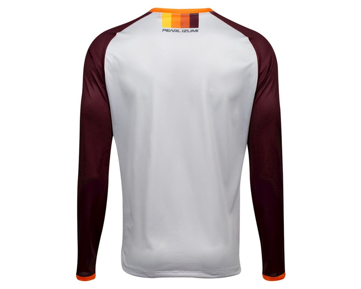 Image 2 for Pearl Izumi Summit Long Sleeve Top (Fog/Garnet Aspect) (L)