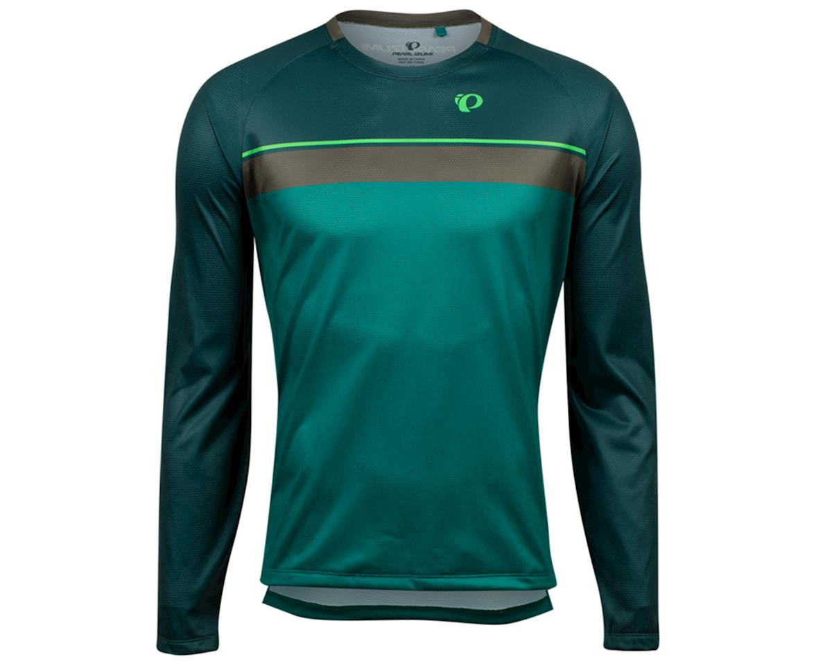 Pearl Izumi Summit Long Sleeve Top (Pine/Alpine Green Spec) (M)