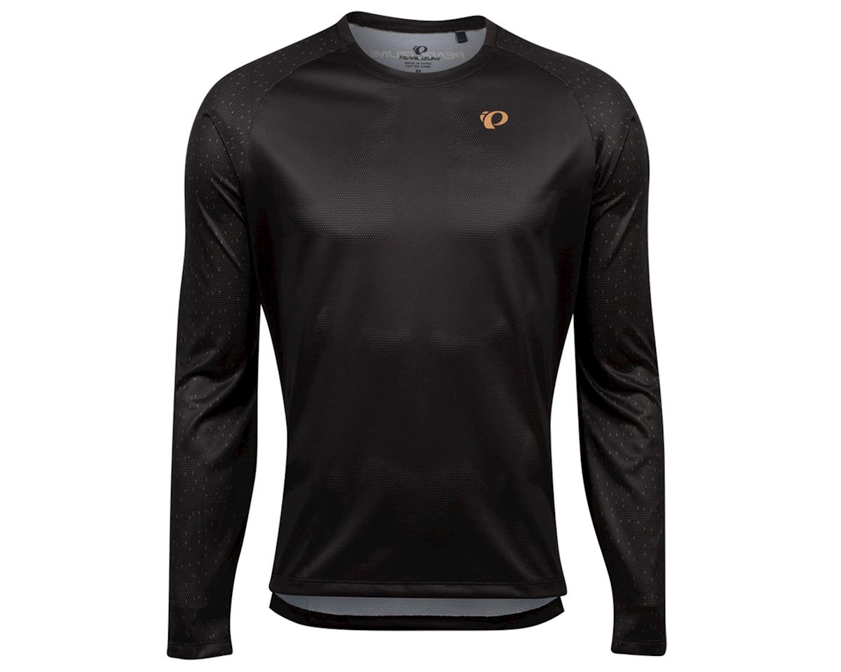 Image 1 for Pearl Izumi Summit Long Sleeve Top (Black/Berm Brown Spec) (S)