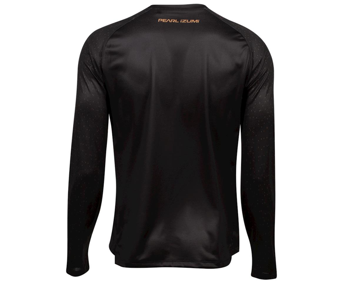 Image 2 for Pearl Izumi Summit Long Sleeve Top (Black/Berm Brown Spec) (S)