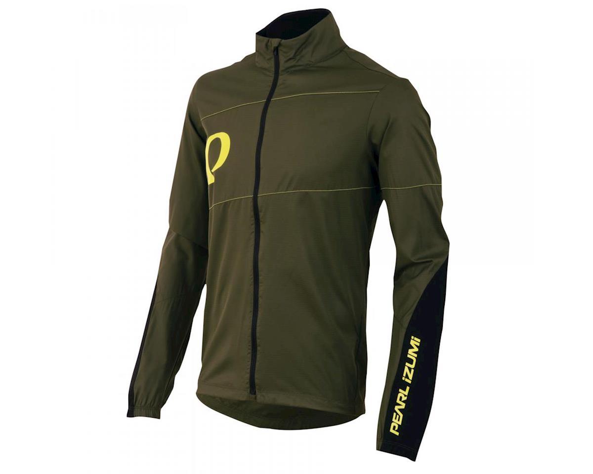 Pearl Izumi MTB Barrier Mountain Bike Jacket (Rifle Green)