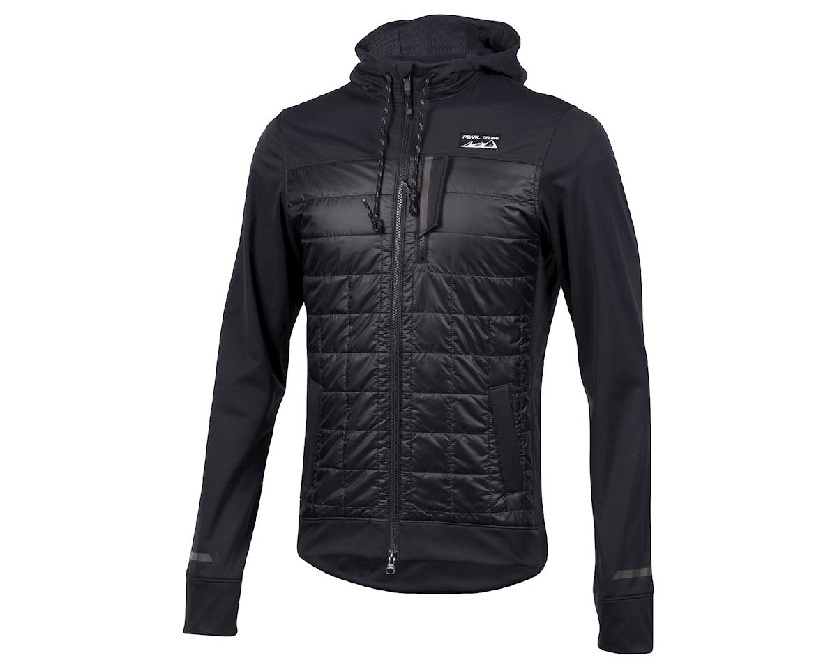 Image 1 for Pearl Izumi Versa Quilted Hoodie (BLACK) (M)