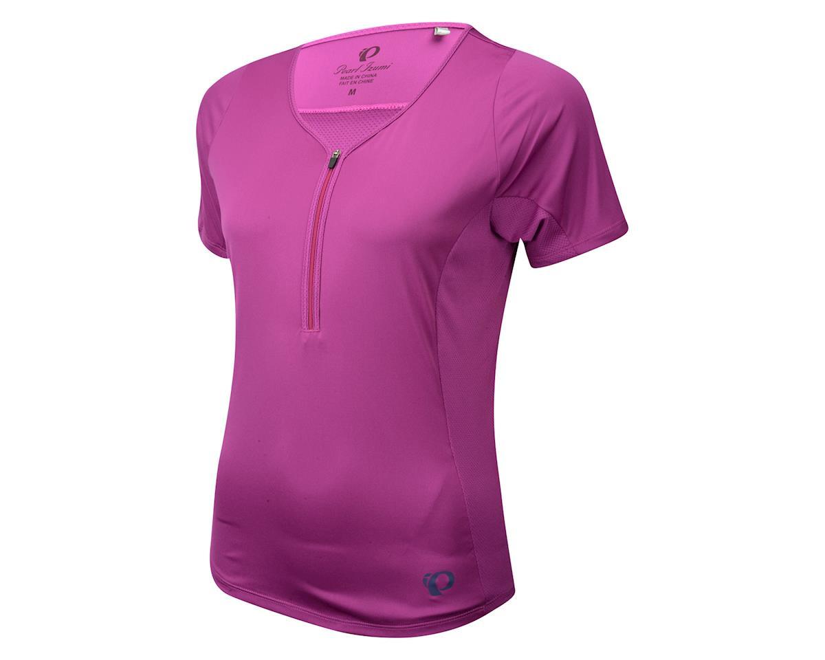 Pearl Izumi Women's Canyon Short Sleeve Jersey (Purple) (Xxlarge)