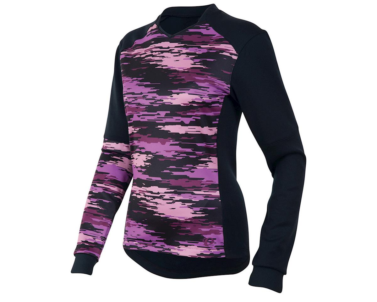 Pearl Izumi Launch Thermal Women's Jersey (Black/Purple) (S)