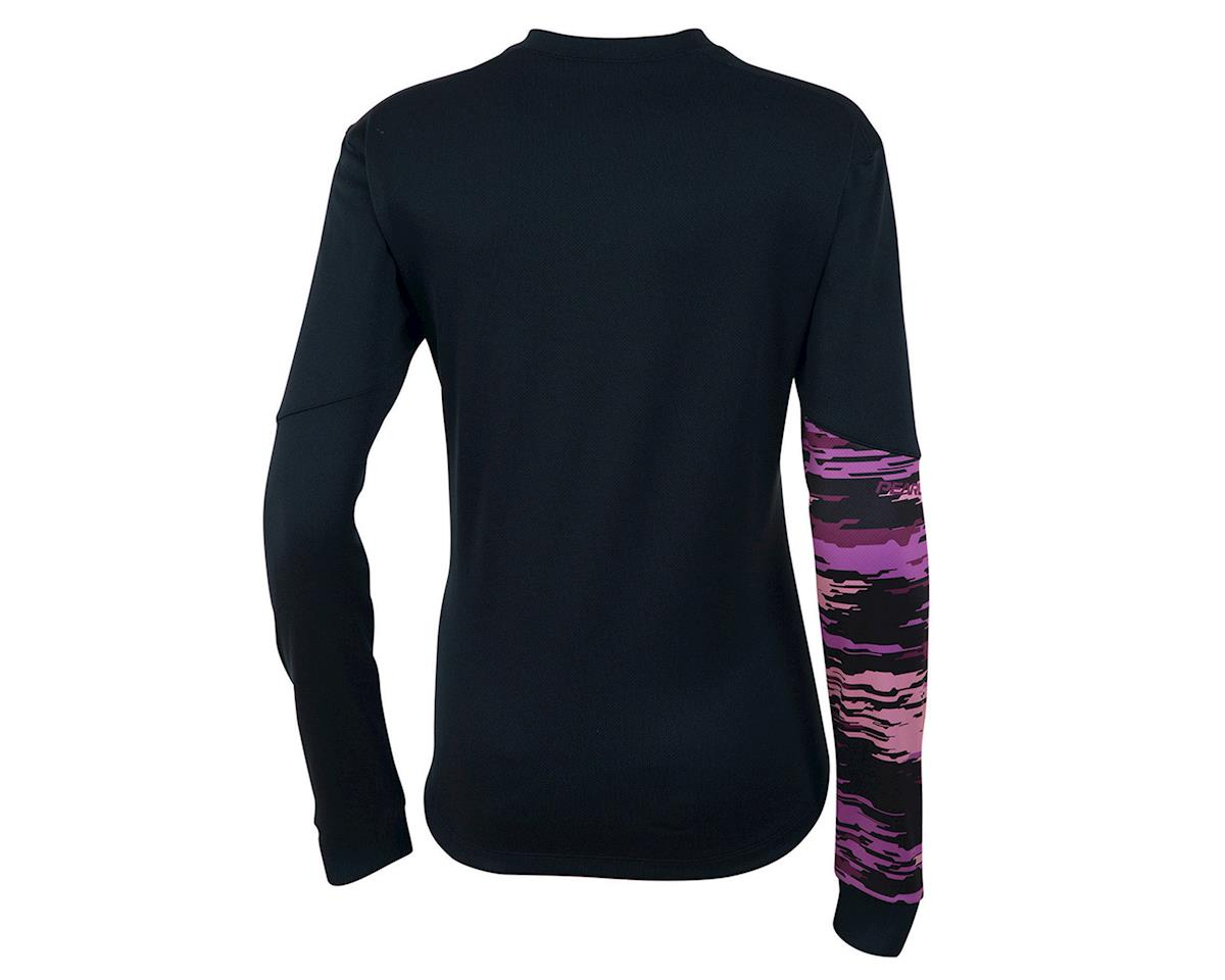 Pearl Izumi Launch Thermal Women's Jersey (Black/Purple) (2XL)