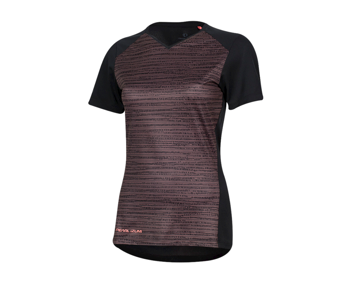 Pearl Izumi Women's Launch Jersey (Black/Sugar Coral Vert) (XL)