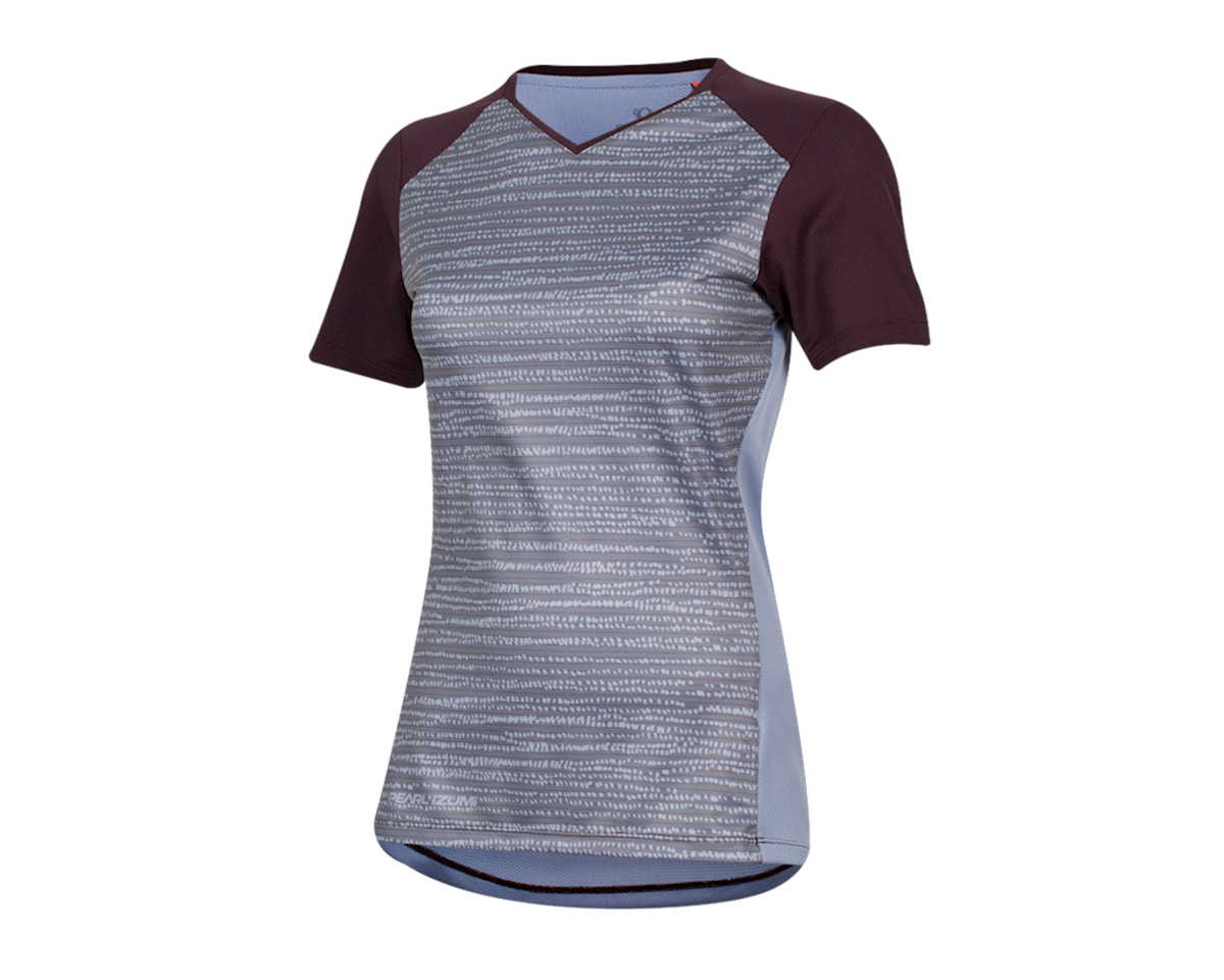 Pearl Izumi Women's Launch Jersey (Plumb Perfect/Eventide Vert) (L)