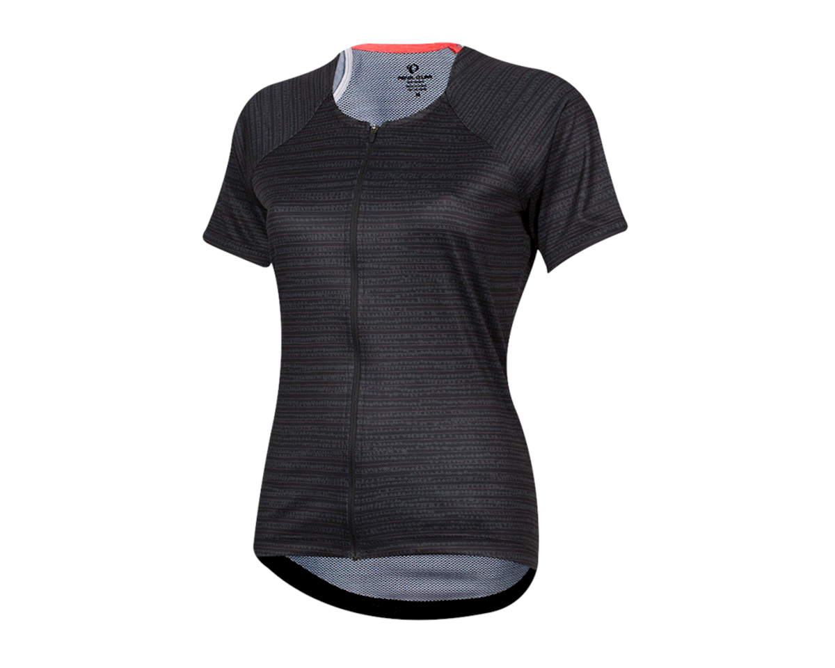 Pearl Izumi Women's Canyon Jersey (Black/Phantom Vert) (XL)