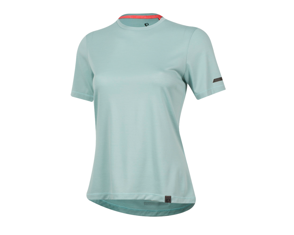 Pearl Izumi Women's BLVD Merino T Shirt (Aquifer) (M)