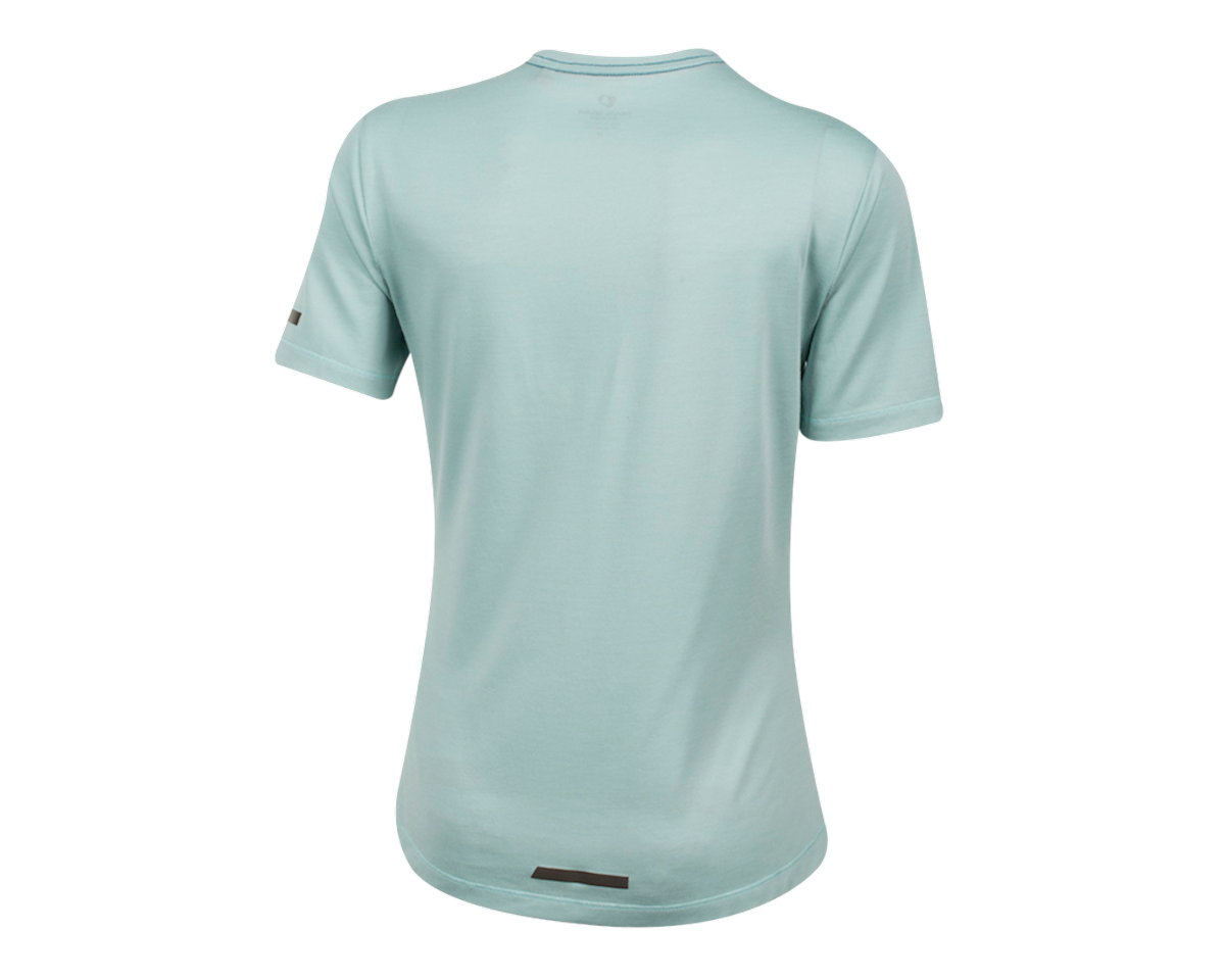 Pearl Izumi Women's BLVD Merino T Shirt (Aquifer) (XL)