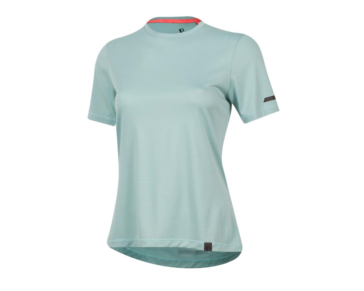 Pearl Izumi Women's BLVD Merino T Shirt (Aquifer) (XS)