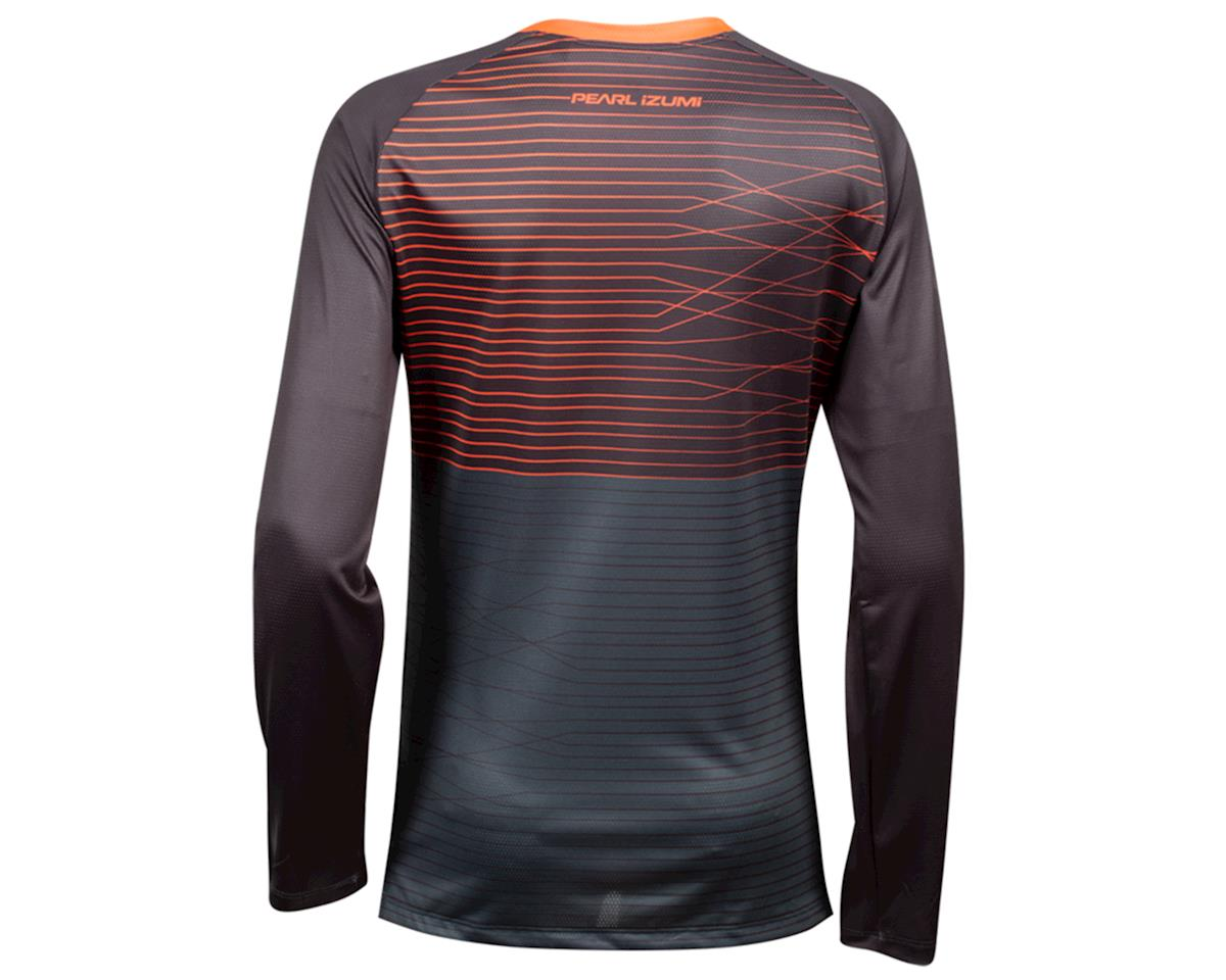 Image 2 for Pearl Izumi Women's Summit Long Sleeve Jersey (Phantom/ Fiery CLR Frequency) (L)