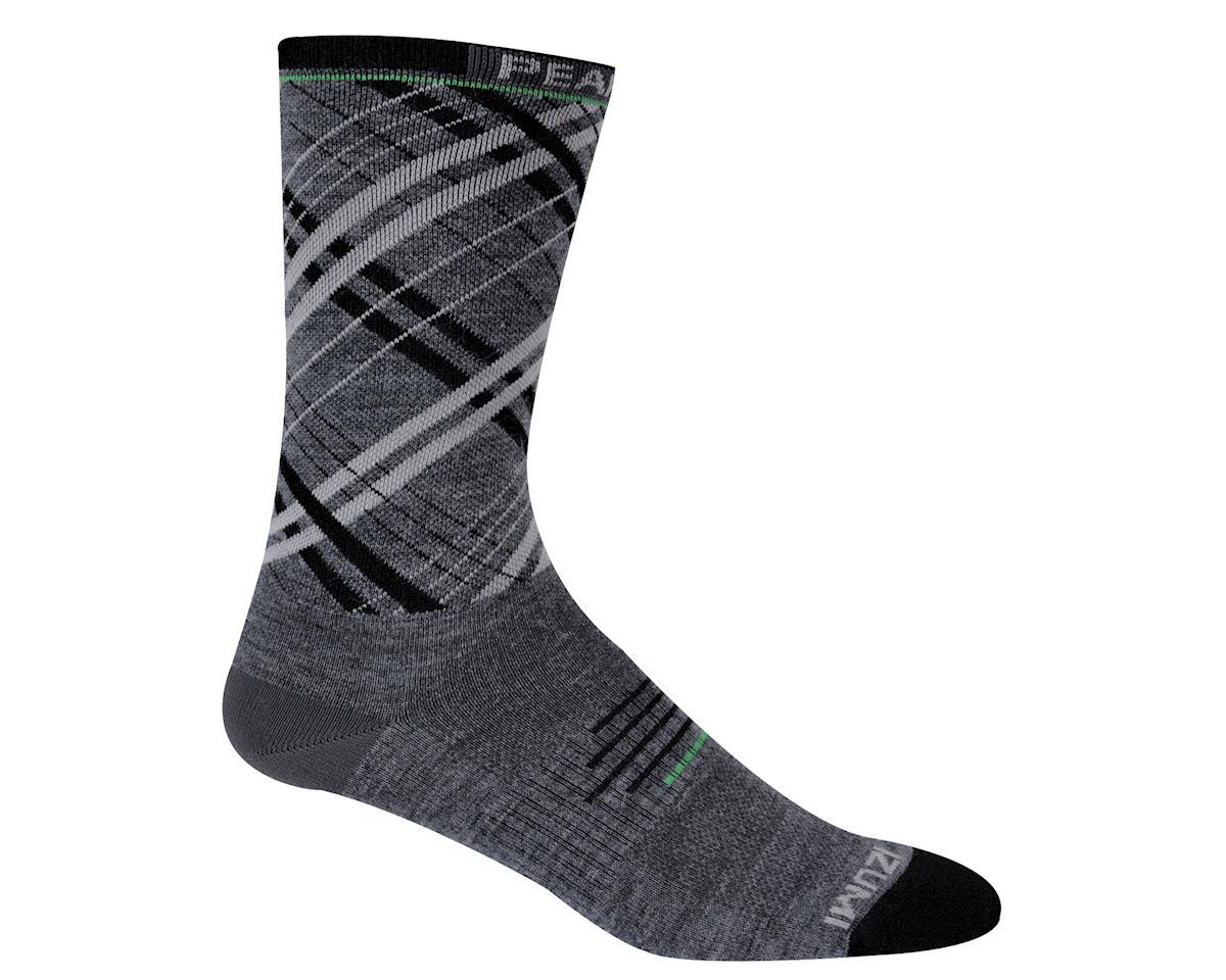 Pearl Izumi Elite Tall Wool Socks (Matte Grey) (Xlarge)