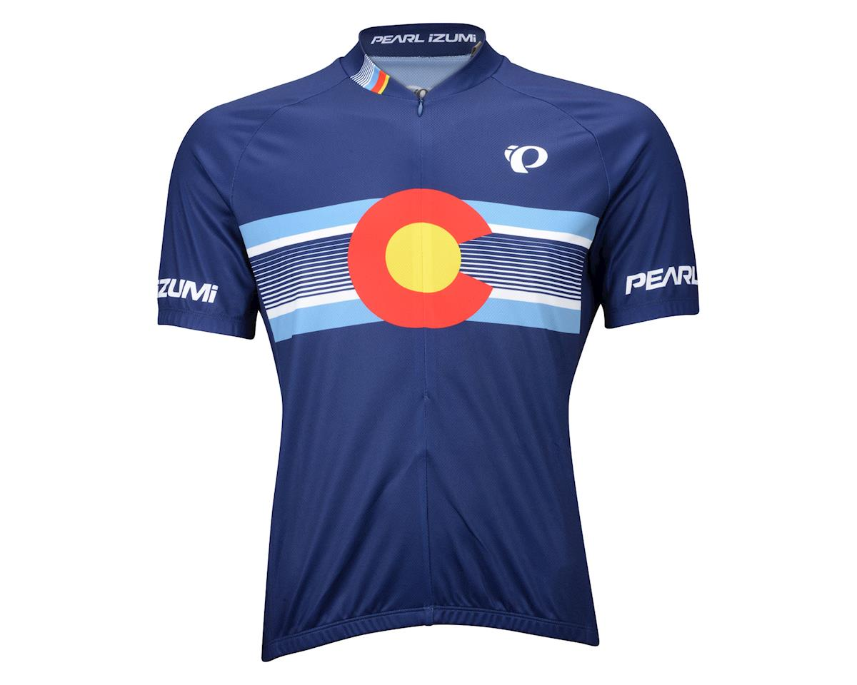 Pearl Izumi Select LTD Home State Short Sleeve Jersey (Blue/Yellow) (Xxlarge)